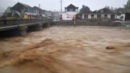 Супертайфун «Лекима» обрушился наДальний Восток