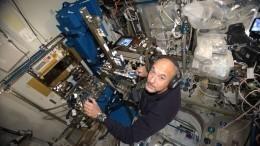 Видео: Итальянский астронавт стал первым вмире космическим диджеем