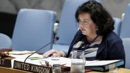 Британский дипломат заявила об«отчаянном» положении украинцев вКрыму