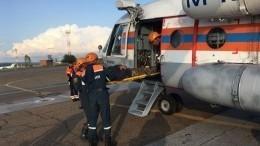 75-летний турист госпитализирован изущелья вБурятии