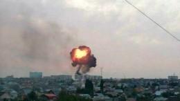 Серия взрывов из-за пожара чуть неуничтожила квартал вОренбурге