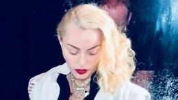 Видео: «Вызывайте скорую!» 60-летняя Мадонна показала шпагат вчулках-«сеточках»