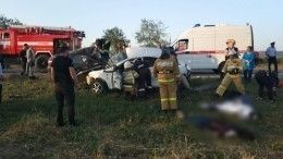 Видео: Шесть человек погибли встрашной аварии вЧечне