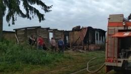 Мать итрое детей погибли впожаре вКурской области