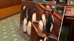 Киевская шаурма ипингвины вРаде. Как Зеленский украсил свой офис— фото