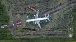 «Взлет разрешаю, отдельные перелеты птиц»: переговоры экипажа севшего вполе А-321 сдиспетчером