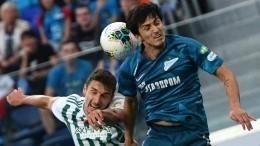 «Зенит» потерял два очка после ничьи вдомашнем матче с«Ахматом»