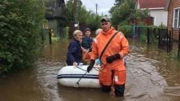 Режим ЧСвведен вБиробиджане из-за паводков