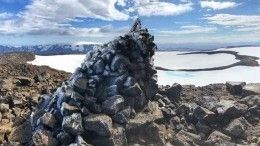 ВИсландии открыли первый памятник «жертве» глобального изменения климата