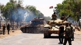 Сирийская армия «отбивает» город Хан-Шейхун утеррористов