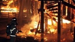 Четыре человека погибли вогне вИркутской области