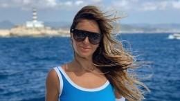 «Полетели»: Жена Реввы напугала фанатов снимком накраю скалы
