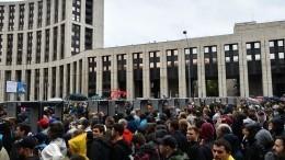 Путин сравнил масштабы протестных акций вМоскве ивЕвропе