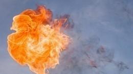 Огненное зарево! Момент мощнейшего взрыва назаправке вЧечне сняли навидео