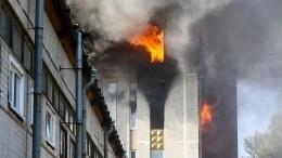 Крупный пожар вПетербурге тушили более 12-ти часов