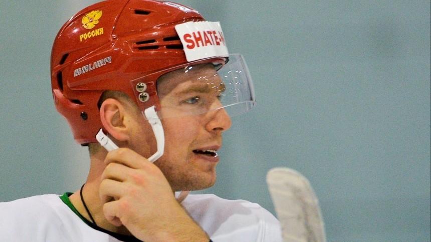 Российского хоккеиста Кузнецова дисквалифицировали начетыре года