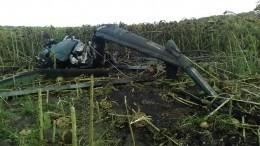 Разбившийся наКубани вертолет мог быть самодельным