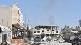 Внебе над Дамаском прогремели мощные взрывы