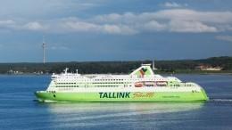 Пассажир круизного парома, следовавшего изТаллина вСтокгольм, прыгнул заборт