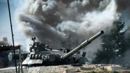Видео: Американские солдаты прокатились нароссийском «летающем» танке Т-80