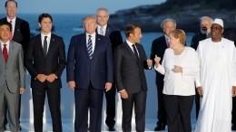 Лидеры G7 единодушно высказались против обладания Ираном ядерного оружия