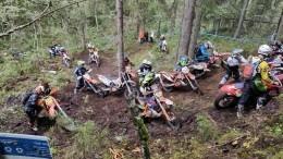 «Шустрая белка»: начемпионате поэндуро вКарелии сразились мотобайкеры изРФидругих стран