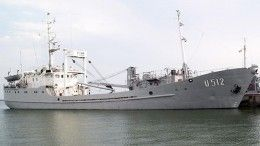 Украинский корабль-разведчик побывал взоне российских учений