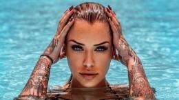 Как выглядит самая красивая тату-модель, превратившая тело вхолст— фото