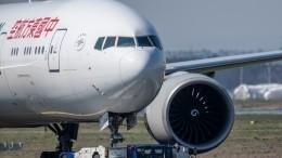 Вмеждународном аэропорту Пекина загорелся самолет спассажирами