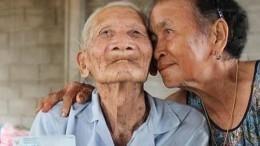 Самый старый мужчина вмире живет вТаиланде