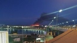 Мощный ландшафтный пожар под Ростовом-на-Дону потушен