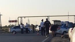 ВВолгограде девять человек пострадали при опрокидывании автобуса— фото