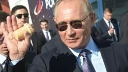 Песков объяснил, почему Путин купил мороженое «утойже самой» продавщицы