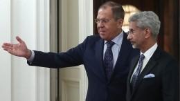 Видео: Лавров рассказал опланах порасширению сотрудничества сИндией