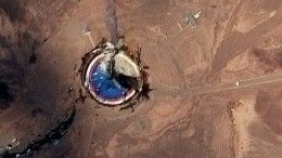 Напусковой площадке вИране взорвалась ракета