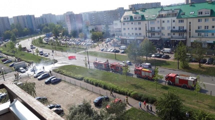 Два человека погибли при взрыве газового баллона вмашине вВаршаве
