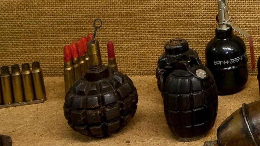 Умедбрата одной изполиклиник Москвы изъяли арсенал оружия
