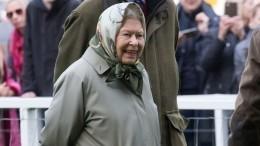 Елизавета II подшутила над американскими туристами, неузнавшими еенапрогулке