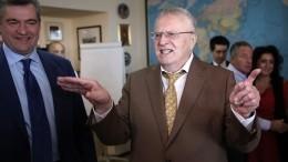 Жириновский дал совет онаказании для Польши запозицию поВторой мировой