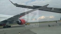 Два самолета столкнулись ваэропорту «Шереметьево» вМоскве— видео