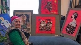 Видео: 80-летняя жительница Ленобласти стала звездой Instagrаm
