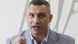 Правительство Украины согласилось уволить Кличко споста мэра Киева