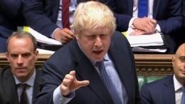 Борис Джонсон пригрозил парламенту Британии перевыборами запопытку срыва Brexit