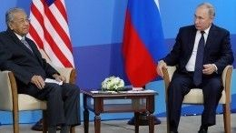 Путин навстрече спремьер-министром Малайзии отметил отношения приоритетного партнерства