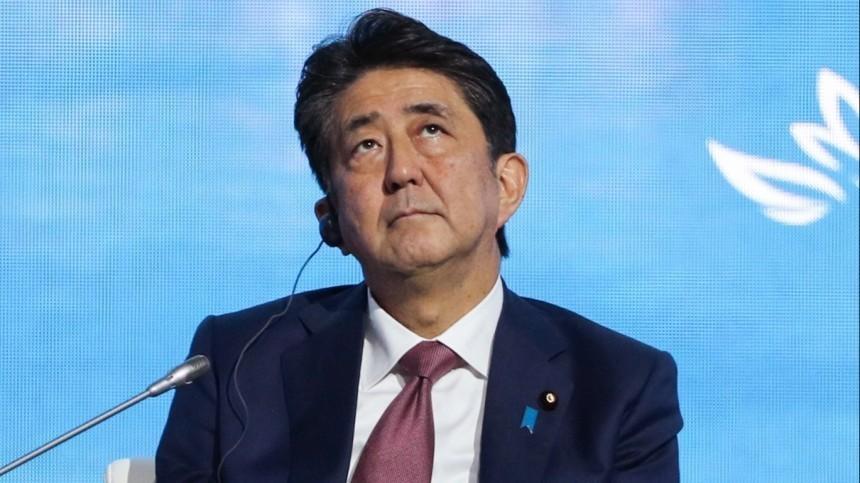 Синдзо Абэ начал выступление наВЭФ-2019 состихотворения Тютчева