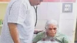 Видео: Индийская женщина родила двойню в74 года