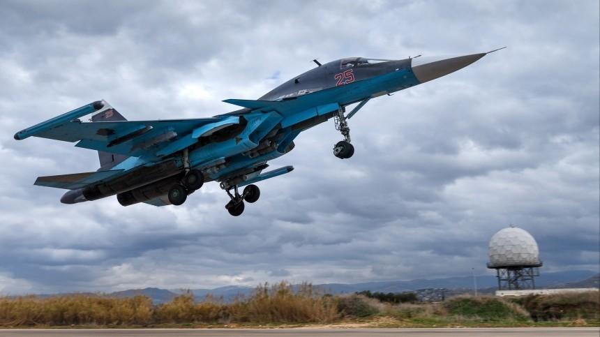 Два российских Су-34 столкнулись ввоздухе