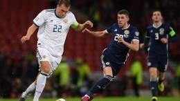 «Расслабляться рано»: Черчесов опобеде сборной России над Шотландией