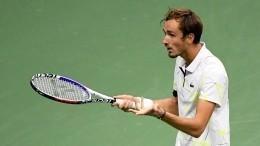 Выполнивший лучший крученый удар Денис Медведев вышел вфинал US Open