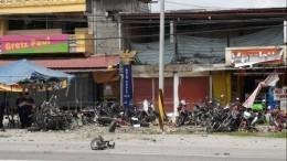 Неменее четырех человек пострадали вовремя взрыва наФилиппинах